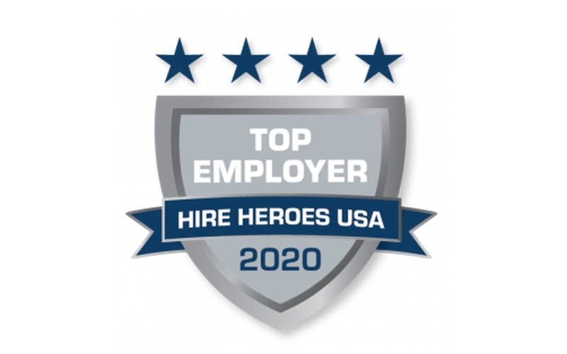 Hire Heroes USA Recognizes Top Five Employers of the Quarter